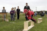 Dětská olympiáda v Hošticích