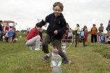 Dětská olympiáda v Hošticích 9. června 2012