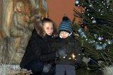 Mikuláš a rozsvícení stromečku